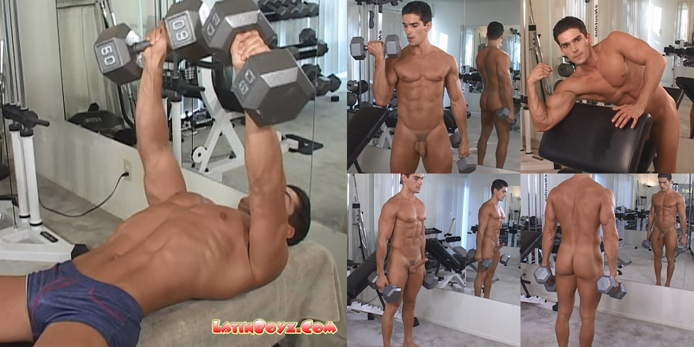 muscular latino naked